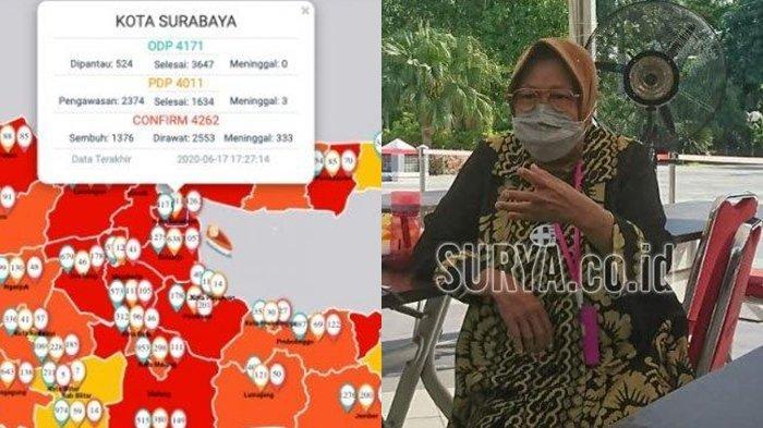 Setelah Dapat Ultimatum dari Presiden Jokowi, Ini Upaya Risma Hadapi Virus Corona di Surabaya