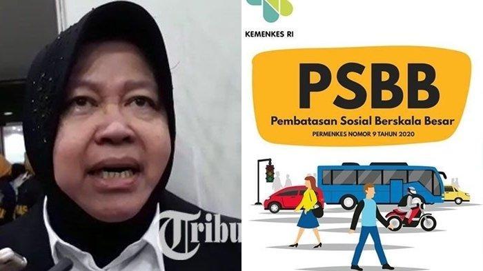 Tak Ingin Marak Seperti di Jakarta, Risma Minta Warga Surabaya Lakukan Ini Selama PSBB