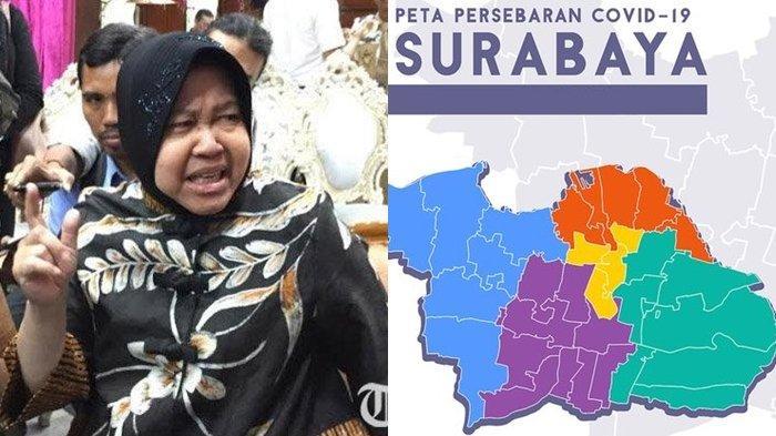 Ketimbang PSBB, Risma Ngotot Pakai Cara Ini ke Warga Meski Kasus Virus Corona di Surabaya Meningkat