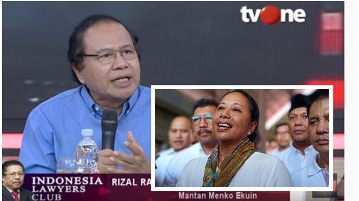 Puji Erick Tohir di ILC,Rizal Ramli Bandingkan Era Menteri BUMN Rini Soemarno: Dulu Tergantung Mood