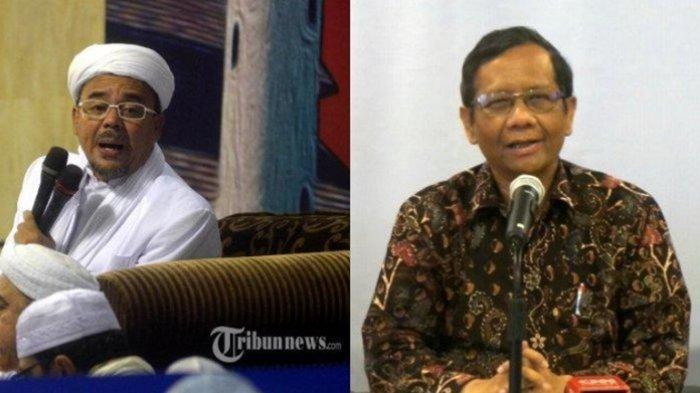 Setelah Mahfud MD, Anak Buah Jokowi Juga Respon Komentar Rizieq Shihab Soal Surat Cekal