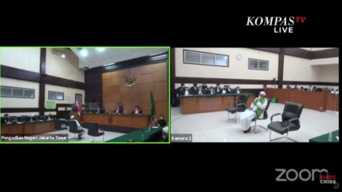 Rizieq Shihab Divonis 4 Tahun Penjara dalam Kasus Swab RS UMMI,  Tonton Live Report Kompas TV