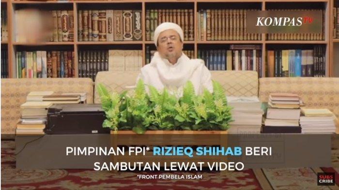 Permintaan Maaf Rizieq Shihab tak Hadir Reuni 212 karena Dicekal Pemerintah Arab Saudi Penjelasannya