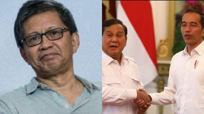 Prabowo Subianto Ulang Tahun, Rangkul Rocky Gerung Setelah Dikritisi Karena dekat ke Jokowi