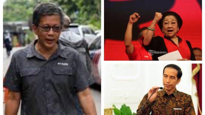 Jokowi Sedang Lawan Megawati dan PDIP, Rocky Gerung Beber Indikatornya, Kroni Baru Alih Kekuasaan