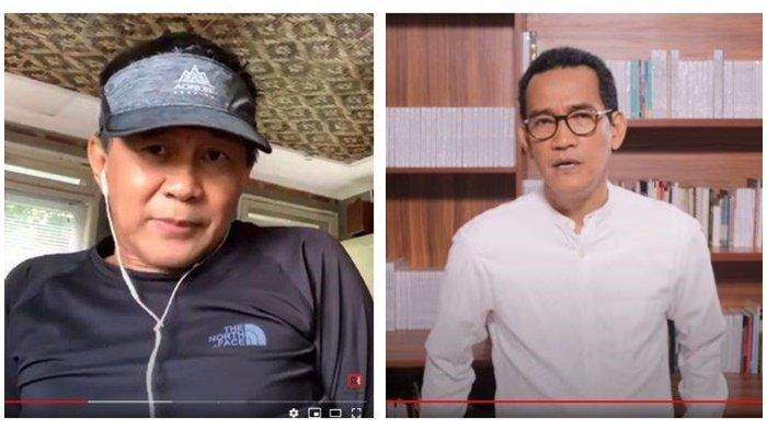 Rocky Gerung Buka Suara Soal Pencopotan Refly Harun: Udah Enggak Punya Power, Sekarang Jadi YouTuber