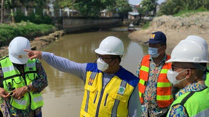 Usulkan Paket Pekerjaan ke DPR RI, Irwan Tinjau Proyek Muara Sungai Ampal di Balikpapan