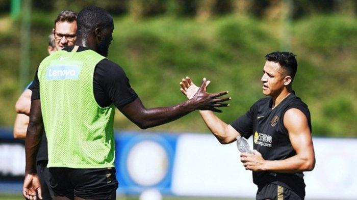 Pernah Bersama di Manchester United, Alexis Sanchez Puji Romelu Lukaku di Inter Milan