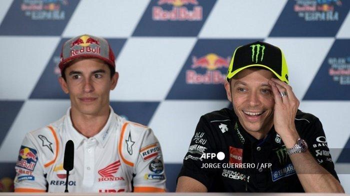 Jam Tayang & Jadwal MotoGP Inggris 2021 Trans7: Rossi dan Marquez Kompak Soal Sirkuit Silverstone