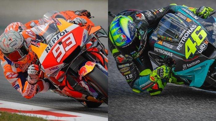 Jam Tayang & Jadwal MotoGP San Marino 2021: Rossi Incar Podium Perpisahan di Sirkuit Favorit Marquez