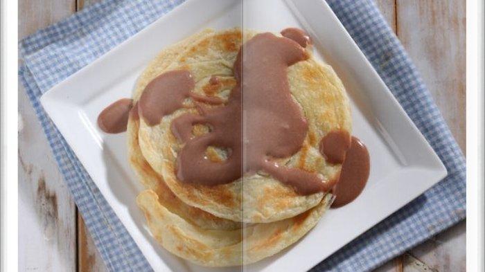 Cara Bikin Roti Cane Almond Saus Cokelat Super Enak, Camilan Sore dengan Rasa Manis dan Gurih