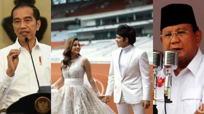 LINK Live Streaming RCTI Pernikahan Atta & Aurel Hari Ini, Jokowi dan Prabowo Hadir Jadi Saksi Nikah