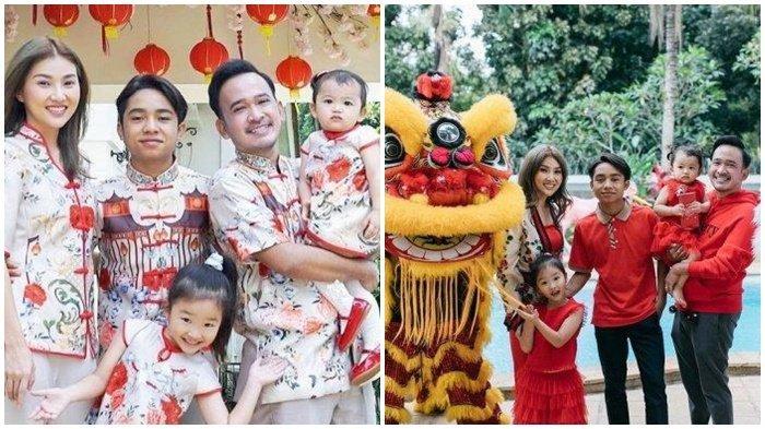 Ruben Onsu dan Sarwendah Bagi-bagi Angpao, Thania Bikin Gemas, Jumlah Uang Angpao Betrand Peto?