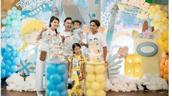Betrand Peto Tulis Pesan Haru untuk Kedua Putri Ruben Onsu, Onyo: Masih Bisa Lihat Senyuman