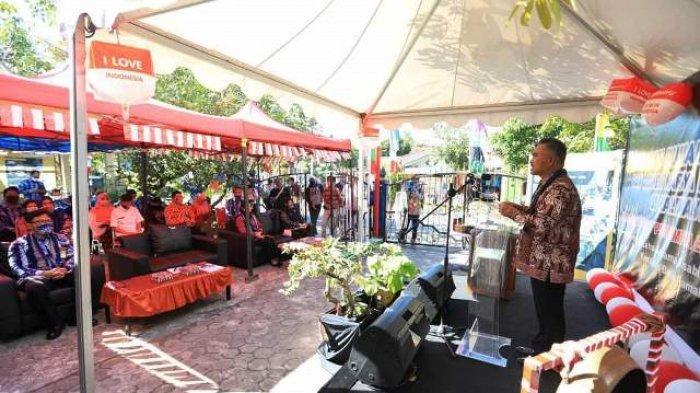 Kembangkan Batik Ramah Lingkungan, Walikota Tarakan Resmikan Rumah Batik Disabilitas