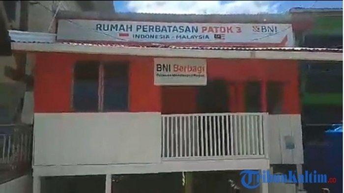 Live Streaming Rumah Unik Di Sebatik Kalimantan Utara Ruang Tamunya Indonesia Dapurnya Malaysia Tribun Kaltim