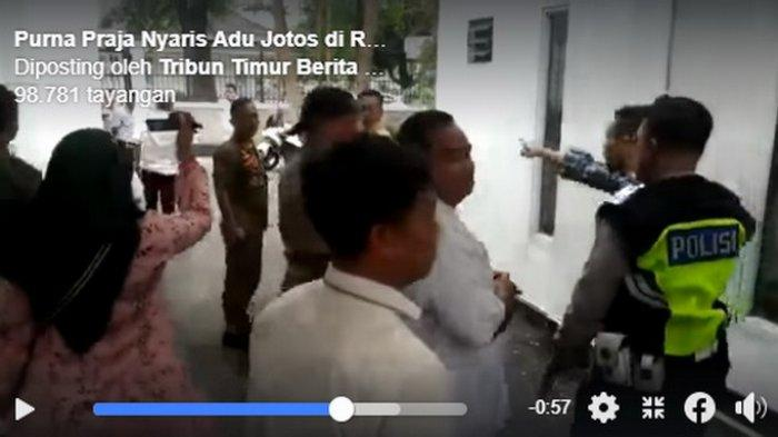 Detik-detik Purna Praja Nyaris Adu Jotos di Rujab Walikota Makassar, Iman Hud: Mau Lawan Seniorkah?
