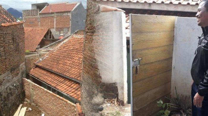 Rumah Pak Eko Ternyata Punya Jalan Akses Masuk, Ia Tak Tinggali Karena Dikontrakkan