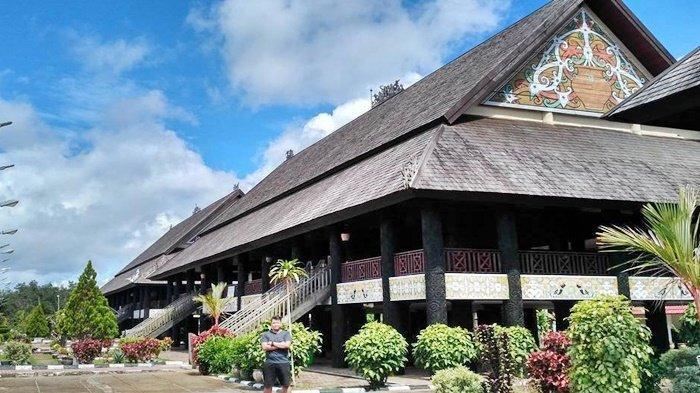 Wisata Favorit di Kutai Barat Kala Pandemi Covid-19, Taman Budaya Sentawar Gambaran Persatuan Etnis