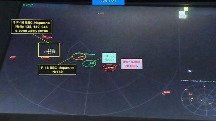 Rusia Beberkan Bukti Israel Pelaku Penembakan Pesawat Intai Ilyushin II-20