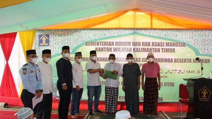 Dua Tahanan Bebas Saat Idul Fitri 2021 Langsung Lakukan Hal Ini, Karutan Samarinda: Jangan Kembali!