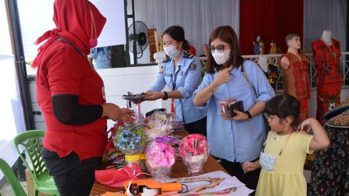 Karya Narapidana di Bazar Rutan Samarinda Hasilkan Penerimaan Negara Bukan Pajak
