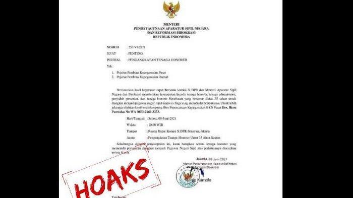 TENAGA Honorer Jangan Senang Dulu! Kemenpan RB Pastikan Surat Edaran Pengangkatan yang Beredar Palsu