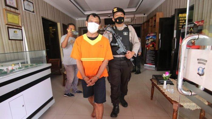 Polresta Balikpapan Tangkap Warga Muara Rapak Bawa Badik, Curiga Melarikan Diri Saat Didekati Polisi