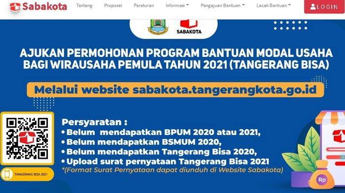 LOGIN sabakota.tangerang.go.id dan Simak Cara Daftar UMKM Online 2021 Gratis, Syaratnya Siapkan KTP