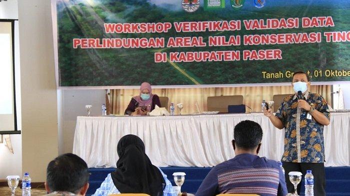 Gelar Workshop di Paser, Disbun Kaltim Minta Lindungi Areal Nilai Konservasi