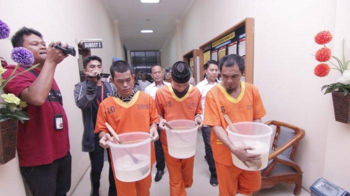 Ditresnarkoba Polda Kaltim Ungkap Kasus Sabu Hasil Penindakan November-Desember 2019,Segini Beratnya