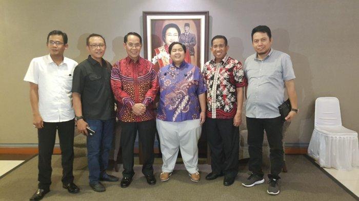Rusmadi-Safaruddin Temui DPP PDIP, Sepakat Maju Bersama di Pilgub Kaltim 2018