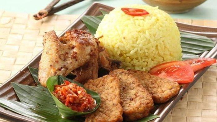 Cara Bikin Nasi Kuning Tempong, Hidangan Khas Banyuwangi Cocok untuk Menu Makan Siang yang Istimewa