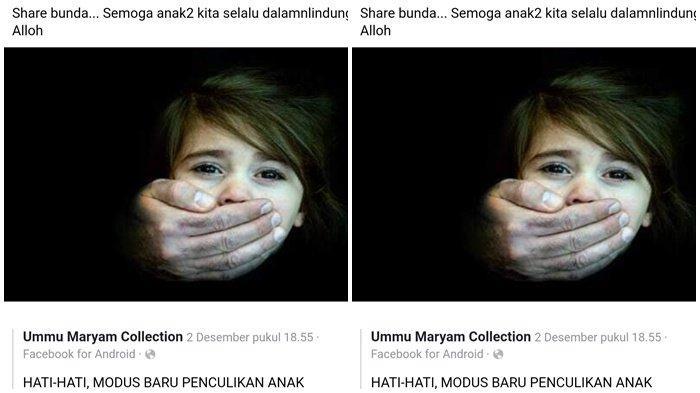 Viral di WhatsApp & Facebook Soal Penculikan Anak, Dua Pelaku Penyebar Hoax Diamankan Polres Berau