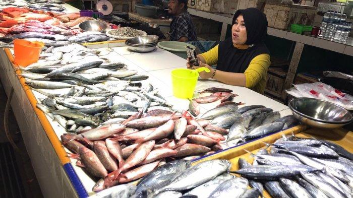 Musim Hujan, Harga Ikan dan Cabai di Pasar Induk Sangatta Kutim Naik