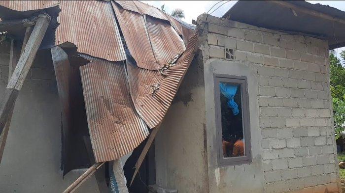 48 Rumah di Paser Alami Kerusakan Setelah Diterjang Angin Puting Beliung