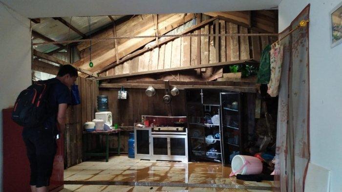 Samarinda Diguyur Hujan, Rumah Warga di Selili Terkena Longsor, Penghuni Rumah Selamat