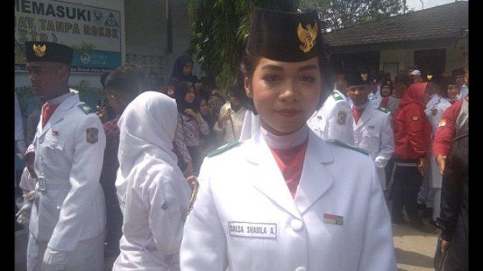 Perjuangan Salsa Shabila Achsan Jadi Paskibra - Rela Menahan Batu 5 Kg di Lengan Selama 30 Menit