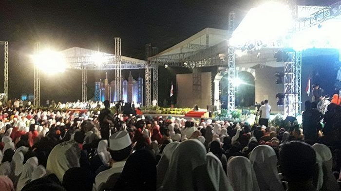Wagub Jabar Sampaikan Sambutan Hari Santri Nasional di Hadapan Jokowi