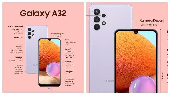 LENGKAP Daftar Terbaru Harga HP Samsung Juni 2021, Galaxy A21s, GalaxyA31, GalaxyA32, GalaxyA51