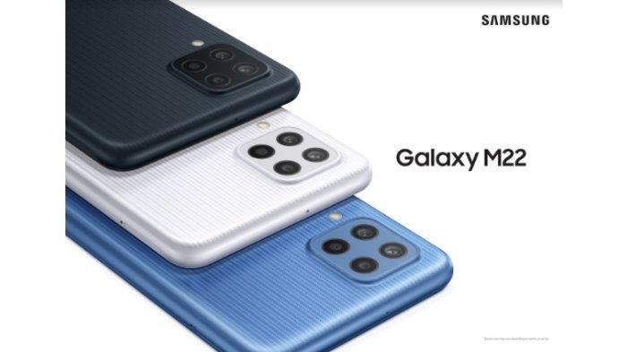 Spesifikasi Lengkap Samsung Galaxy M22, Baterai 5.000 mAh dengan Dukungan Pengisian Daya Cepat 25W
