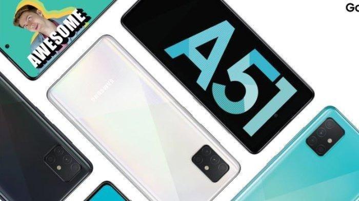LENGKAP Update Harga HP Samsung di Bulan Desember 2020, Galaxy A10s, Galaxy A21s, Galaxy A51