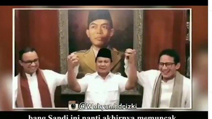 Sandiaga Janji Tak Akan Maju Pilpres 2024 Bila Berhadapan dengan Prabowo, Lihat Sikap Anies Baswedan
