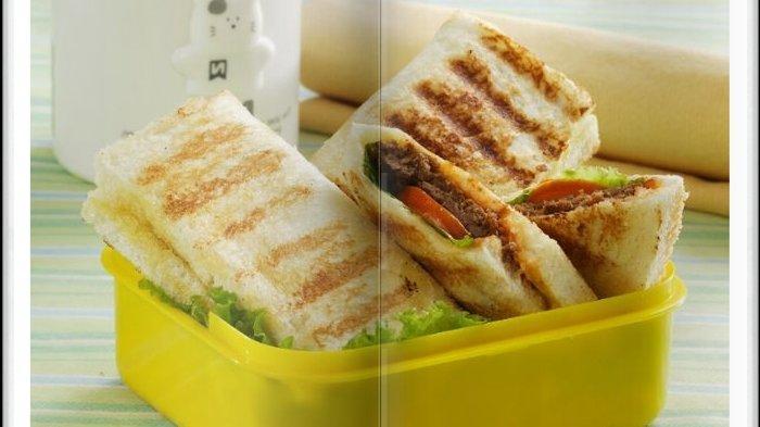 Cara Bikin Sandwich Burger Goreng, Menu Sarapan yang Disukai Keluarga Tercinta