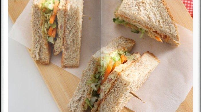 Cara Bikin Sandwich Kornet Gandum Super Enak, Jadi Menu Sarapan yang Mengenyangkan