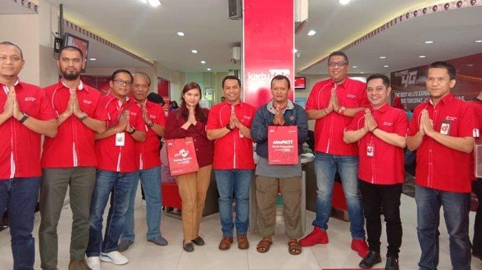Manajemen Telkomsel Regional Sapa Pelanggan, Berikan Banyak Program Menarik di Hari Pelanggan