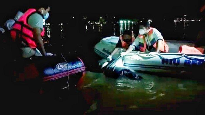 Dini Hari, Jasad Pria yang Menghilang di Sungai Mahakam Ditemukan, 100 Meter dari Lokasi Kejadian