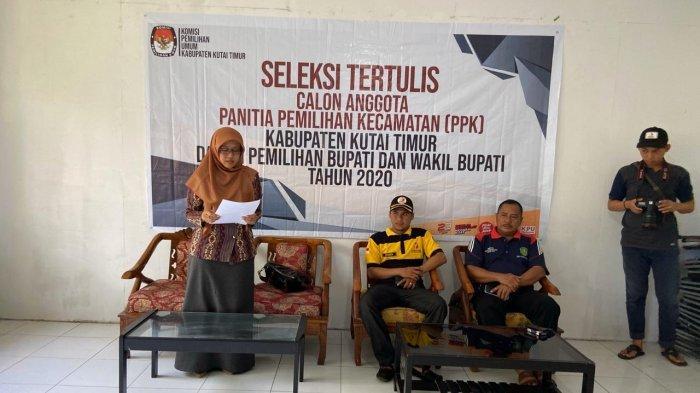240 Peserta Ikut Tes Panitia Pemilihan Kecamatan Seluruh Kutim Kalimantan Timur