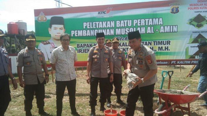 Kapolda Kalimantan Timur Letakkan Batu Pertama Mushola Al Amin, Bagian Interaksi dengan Masyarakat