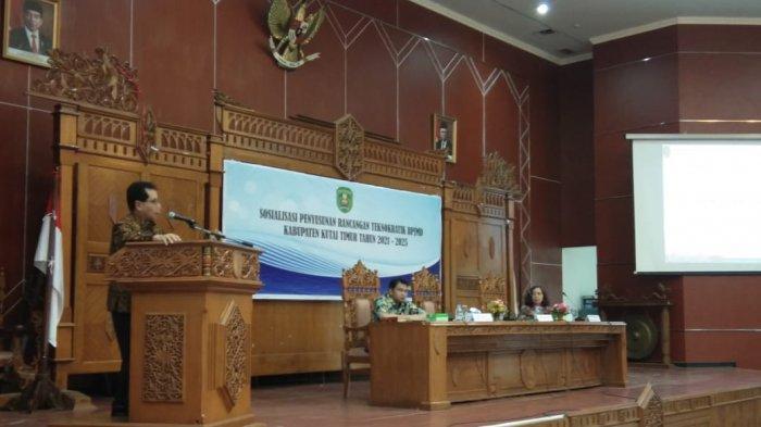 Sosialisasi Rancangan Teknokratik RPJMD, Bappeda Kutai Timur Ajak Semua OPD Terlibat